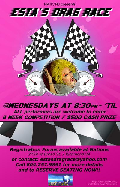 Drag Race Poster