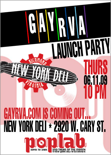 GayRVA Launch Party