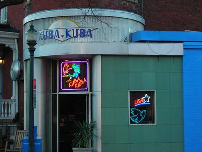 Kuba Kuba on 1601 Park Avenue in the Fan.