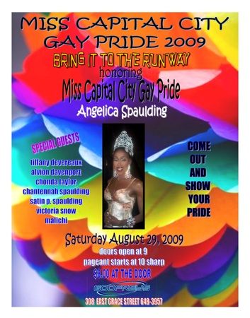 Miss Capital City Gay Pride