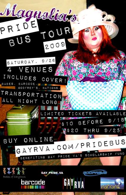 Magnolia's Pride Bus Tour 2009